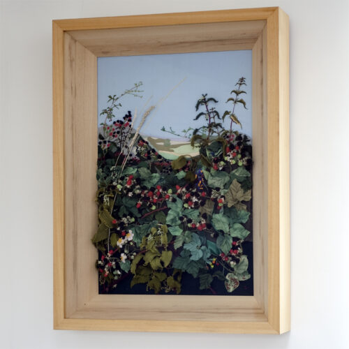 Blackberries Creative Hand Embroidery by Jessica Coote
