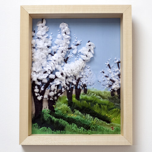 Cherry Blossom Creative Hand Embroidery by Jessica Coote