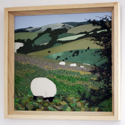 Grazing Sheep Creative Hand Embroidery by Jessica Coote