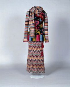 Martin Kidman Knitwear (Brighton Museum). Embroidery by Jessica Coote.