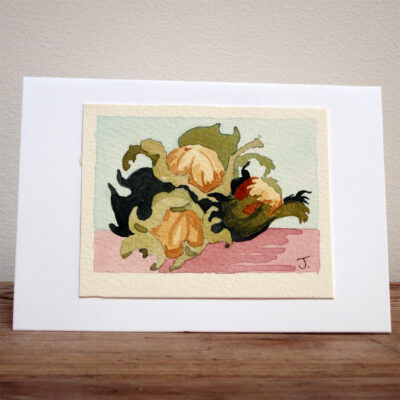 Still Life - Original Watercolour Painting by Jessica Coote